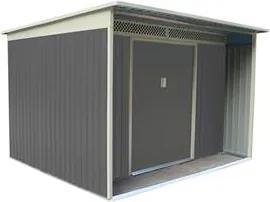 G21 Záhradný domček GBAH 720 - 267 x 236 cm, šedý