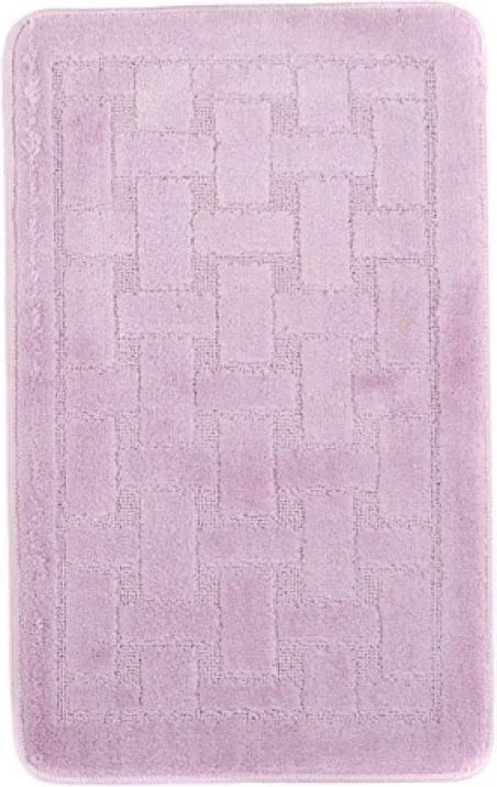 Kúpeľňová predložka 1039 fialová, Velikosti 50x80cm