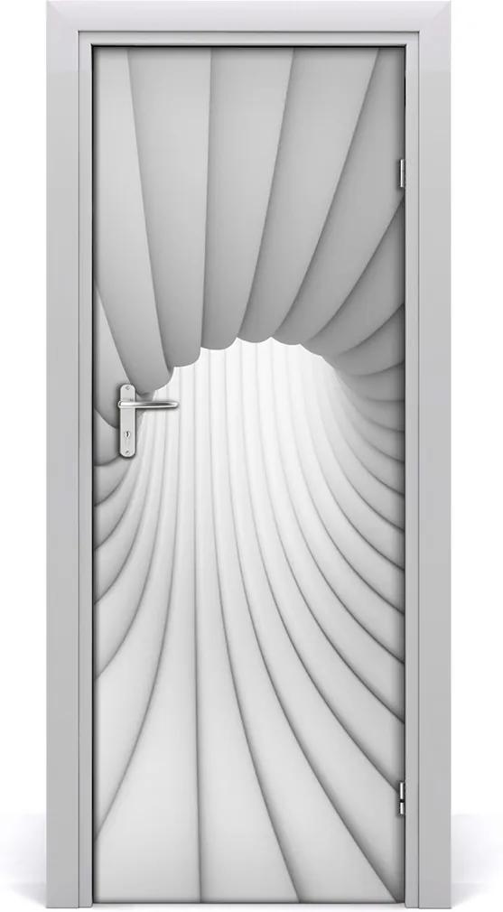 Samolepící fototapeta na dveře Abstrakce tunel