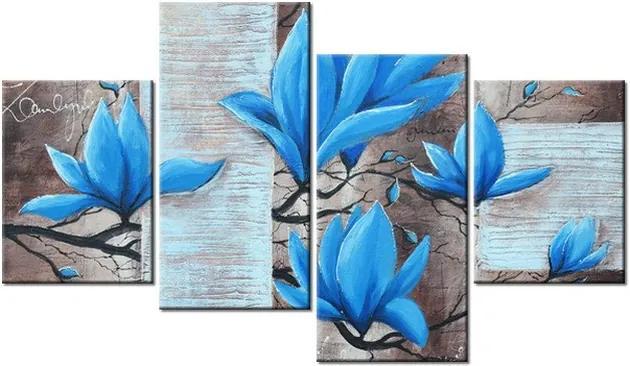 Tlačený obraz Nádherná modrá magnólia 120x70cm 3437A_4Z