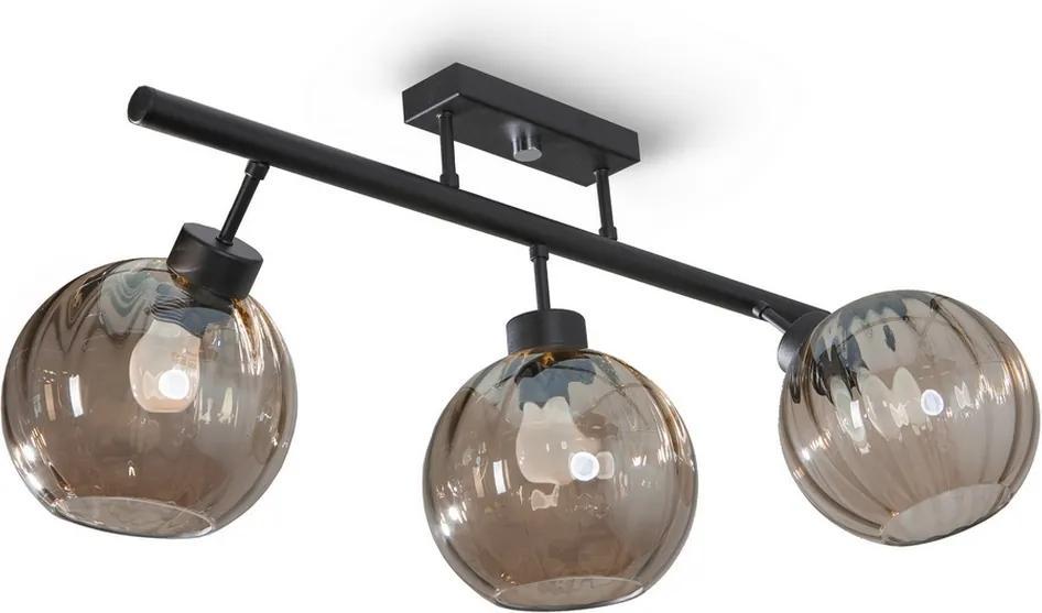 Light4home Prisadený luster FIKY 3xE27/60W/230V LH0317