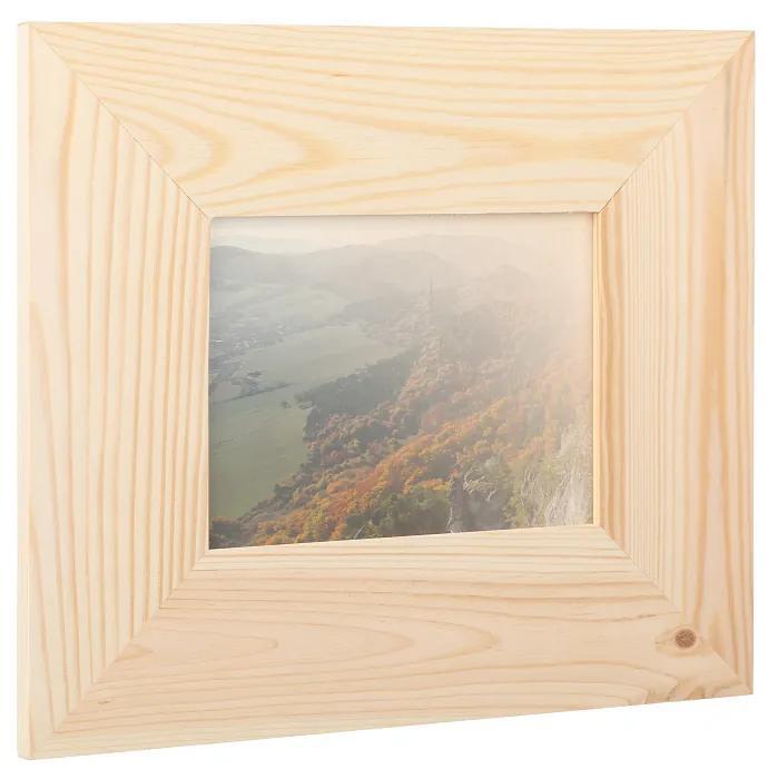 Drevobox Drevený fotorámik na stenu 29.5 x 25 cm