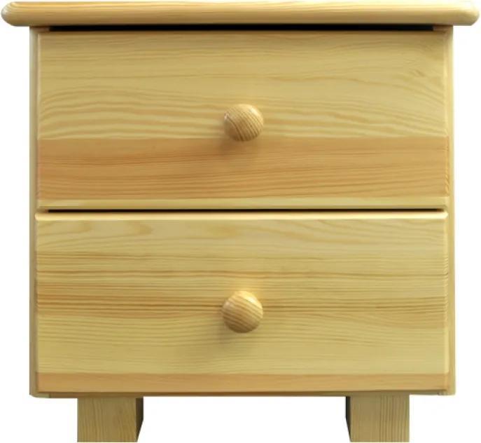AMI nábytok noční stolek Katka dub