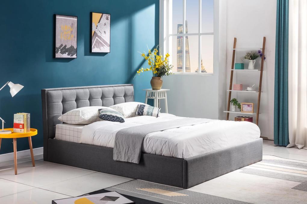 Čalúnená posteľ Padova, 160x200cm