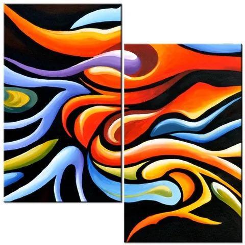 Tlačený obraz Farebná kombinácia 60x60cm 3864A_2A
