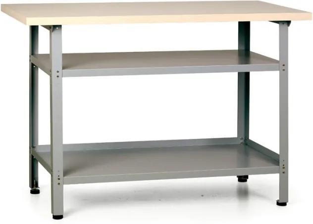 Pracovný stôl HOBBY III s policami