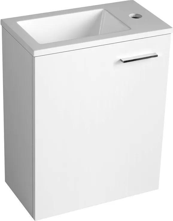 Zoja 51049A umývadlová skrinka 39,5x50x22 cm, biela