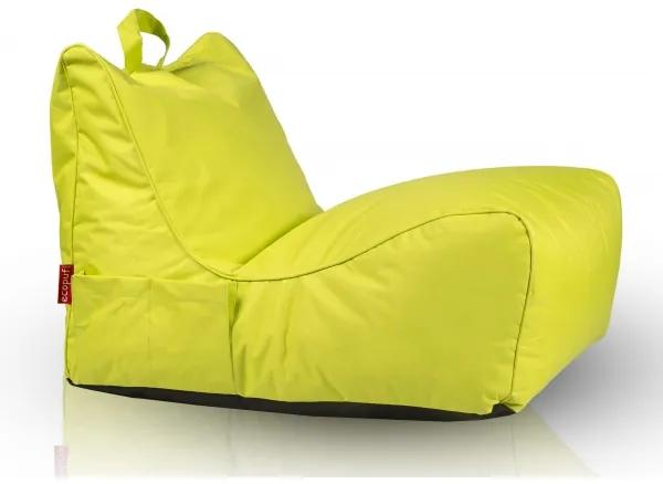 Sedaci vak INTERMENIC FLAVIO - NC01 - Zelená svetlá olivová (Polyester)