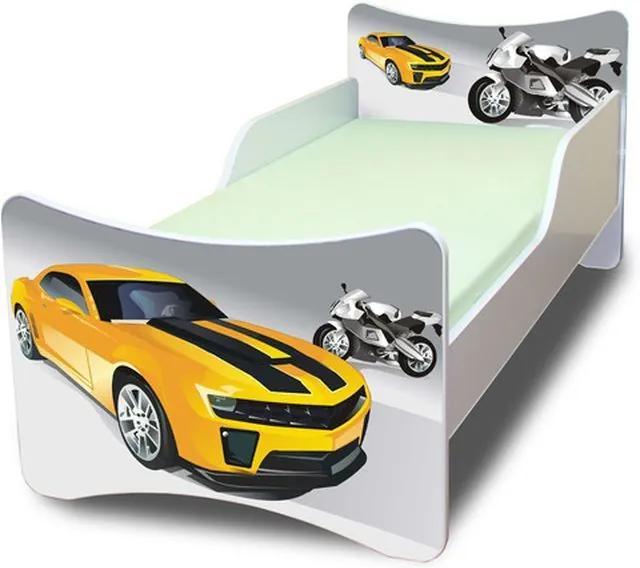 MAXMAX Detská posteľ 160x80 cm - PRETEKÁR 160x80 pre chlapca NIE