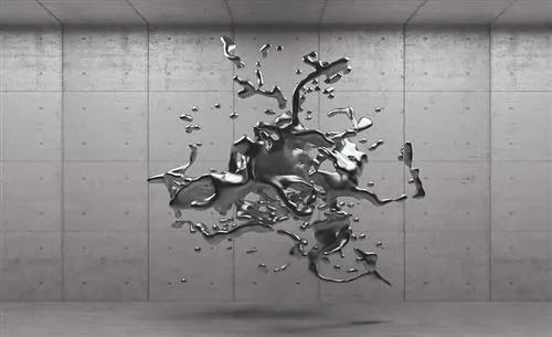 Vliesové fototapety, rozmer 152,5 x 104 cm, 3D abstrakt, IMPOL TRADE 280