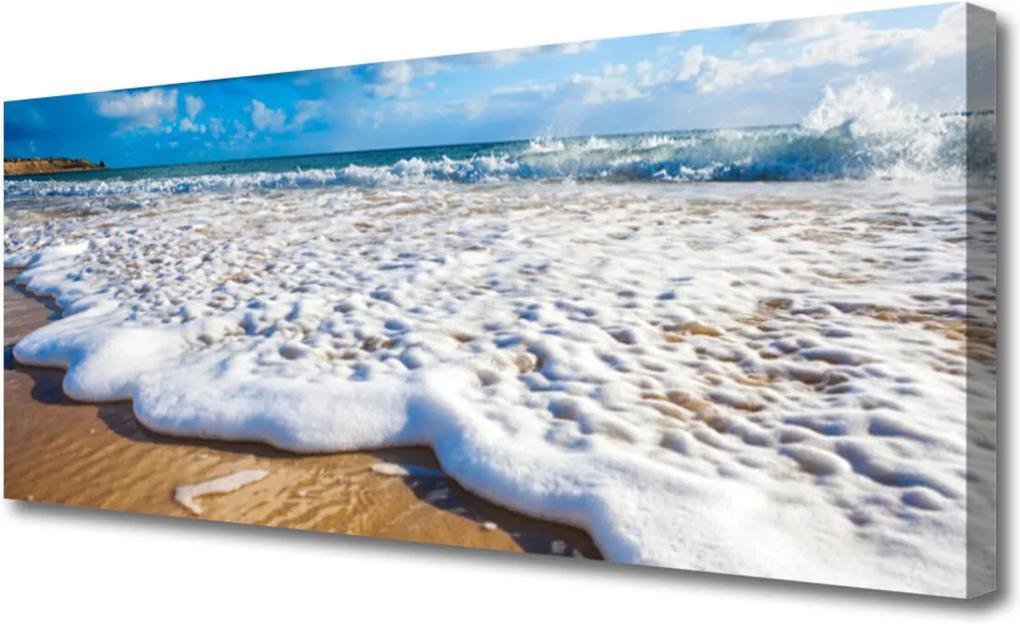 Obraz na plátně Pláž More Pisek Príroda