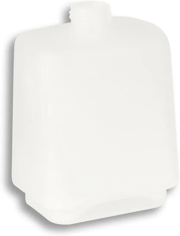Novaservis Metalia 4 6450,XS sklo dávkovača mydla pieskované biele