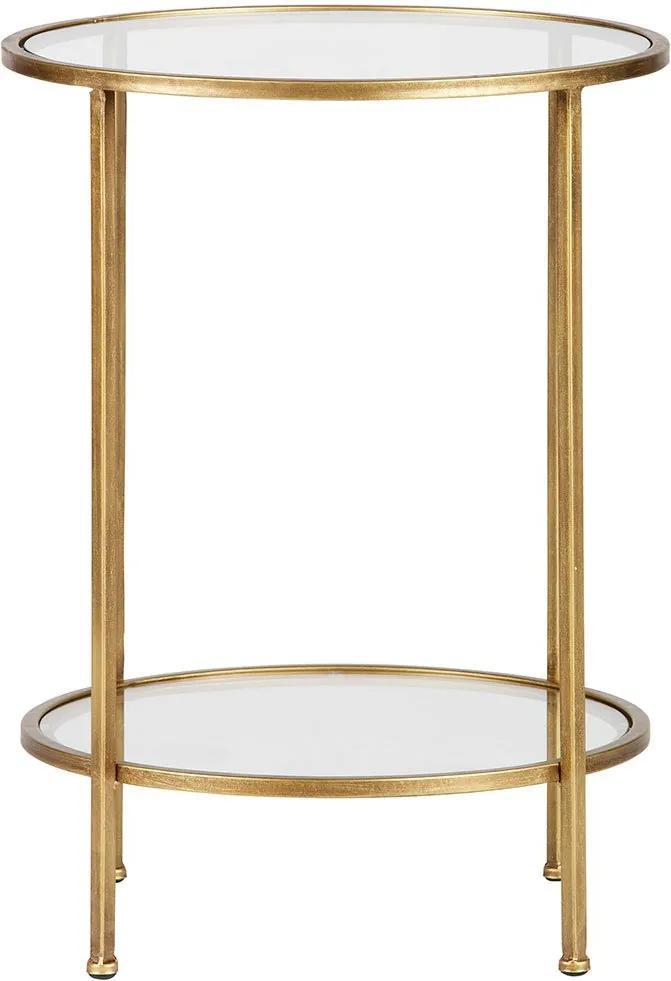 BEPUREHOME Kovový stolík Goddess