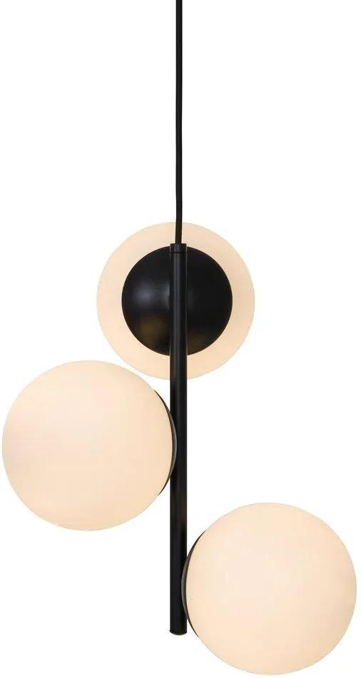 LILLY|  Luxusná závesná lampa Veľkosť: Čierna