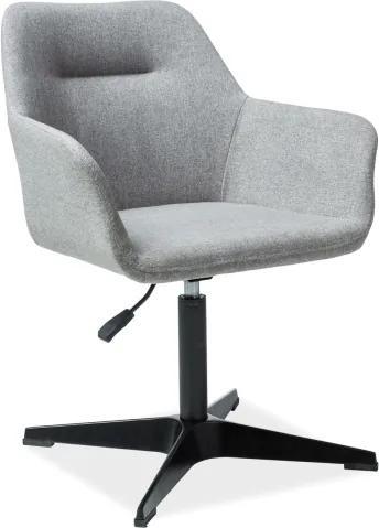 Najlacnejsinabytok KUBO jedálenská stolička, šedá