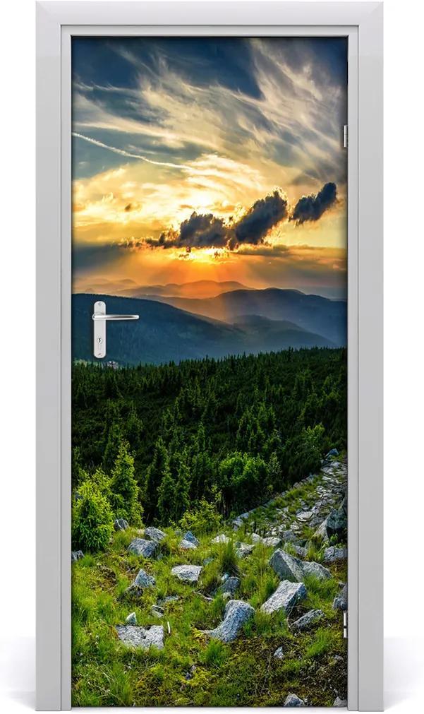 Fototapeta na dvere samolepiace  panoráma hôr