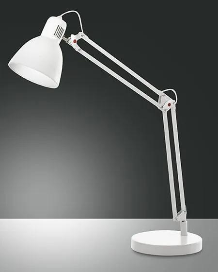 Retro a vintage svietidlo FABAS LISETTA TABLE WHITE 3015-30-102