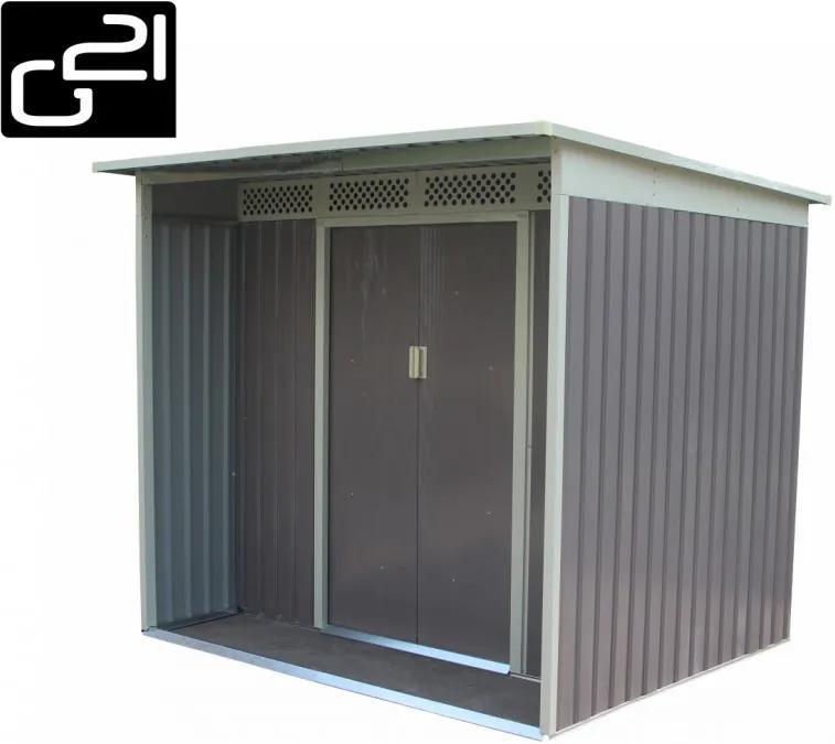 G21 - Záhradný domček G21 GBAH 418 - 203 x 172 cm, šedý 63900591