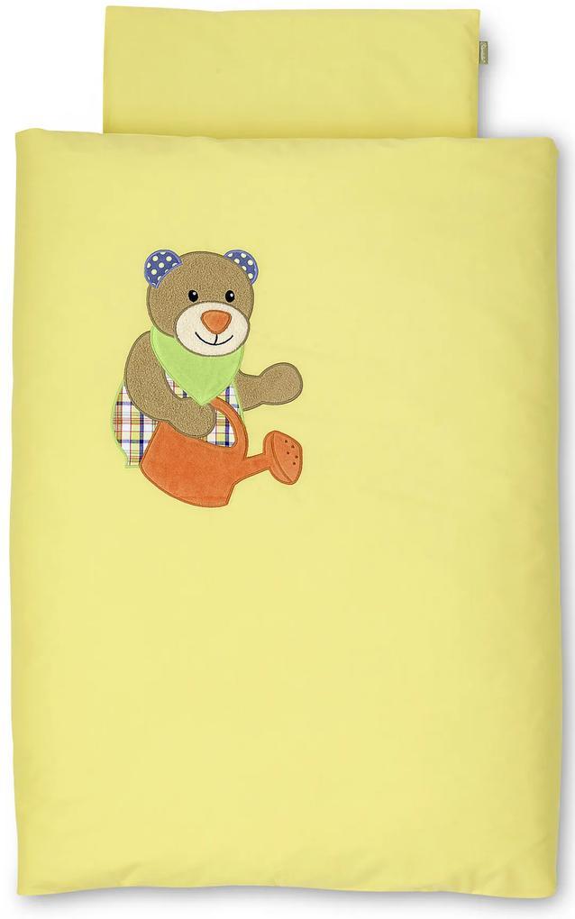 Sterntaler Povlečení do kočárku medvídek Benno