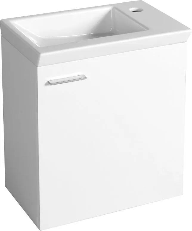 Zoja 51046 umývadlová skrinka 44x50x23,5 cm, biela