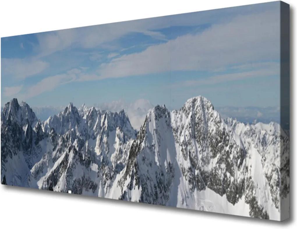 Obraz na plátně Sklenený Hory Príroda