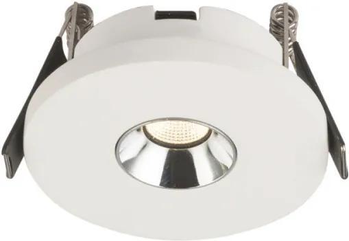 Globo 55010-1E Zápustné Bodové Svetlá biely LED - 1 x 4,2W 6 x 9 x 9 cm