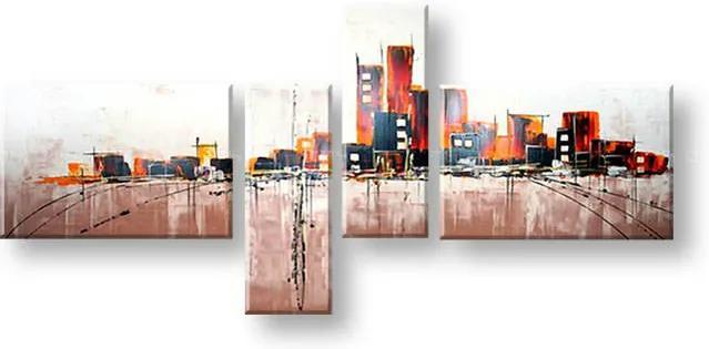 Ručne maľovaný obraz na stenu ABSTRAKT FB205E4