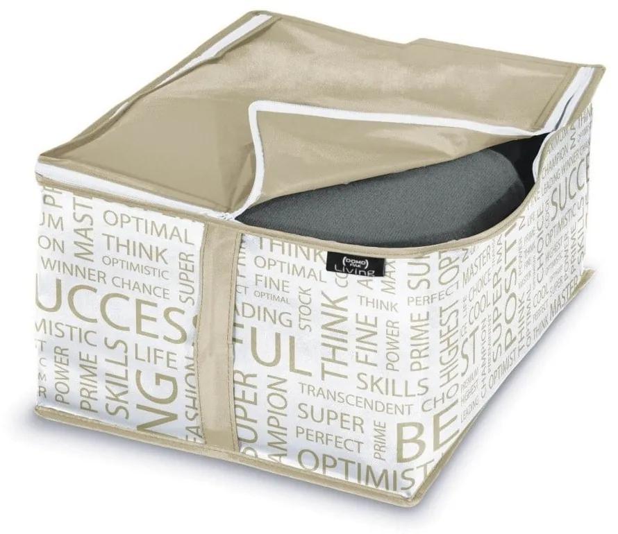 Úložný box Domopak Urban, 20 × 40 cm