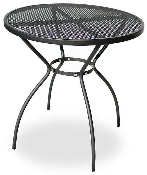 Kovový stôl STEEL (ø70 cm)