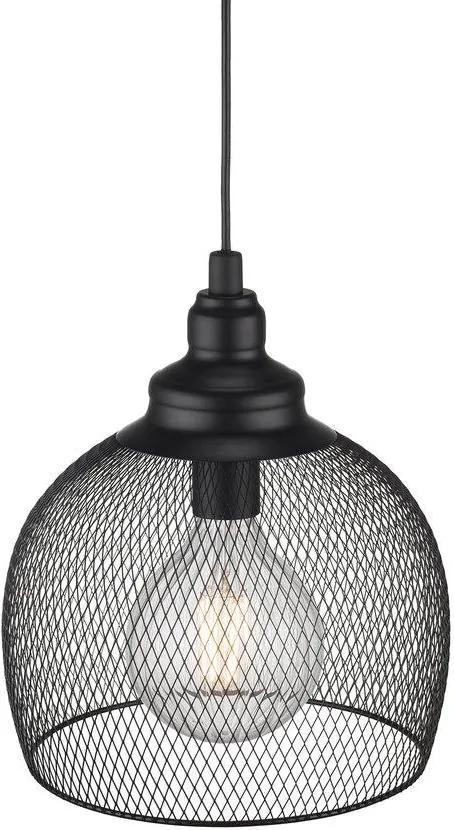 ELDR 30 | závesné svietidlo s kovovým tienidlom Farba: Čierna