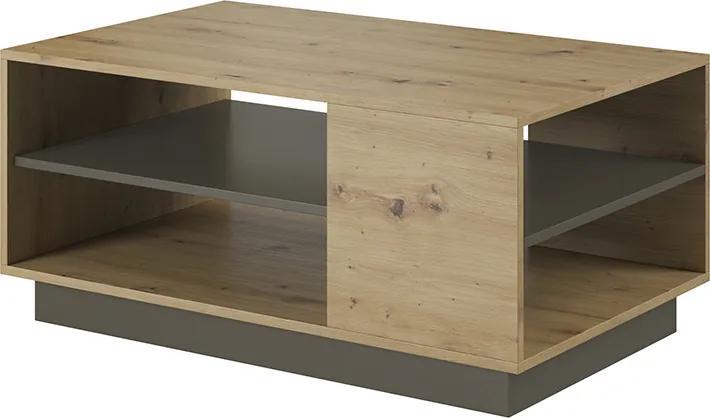 Konferenčný stôl Airo, dub artisan