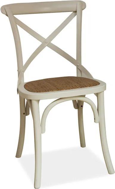 Najlacnejsinabytok LARS jedálenská stolička, biela