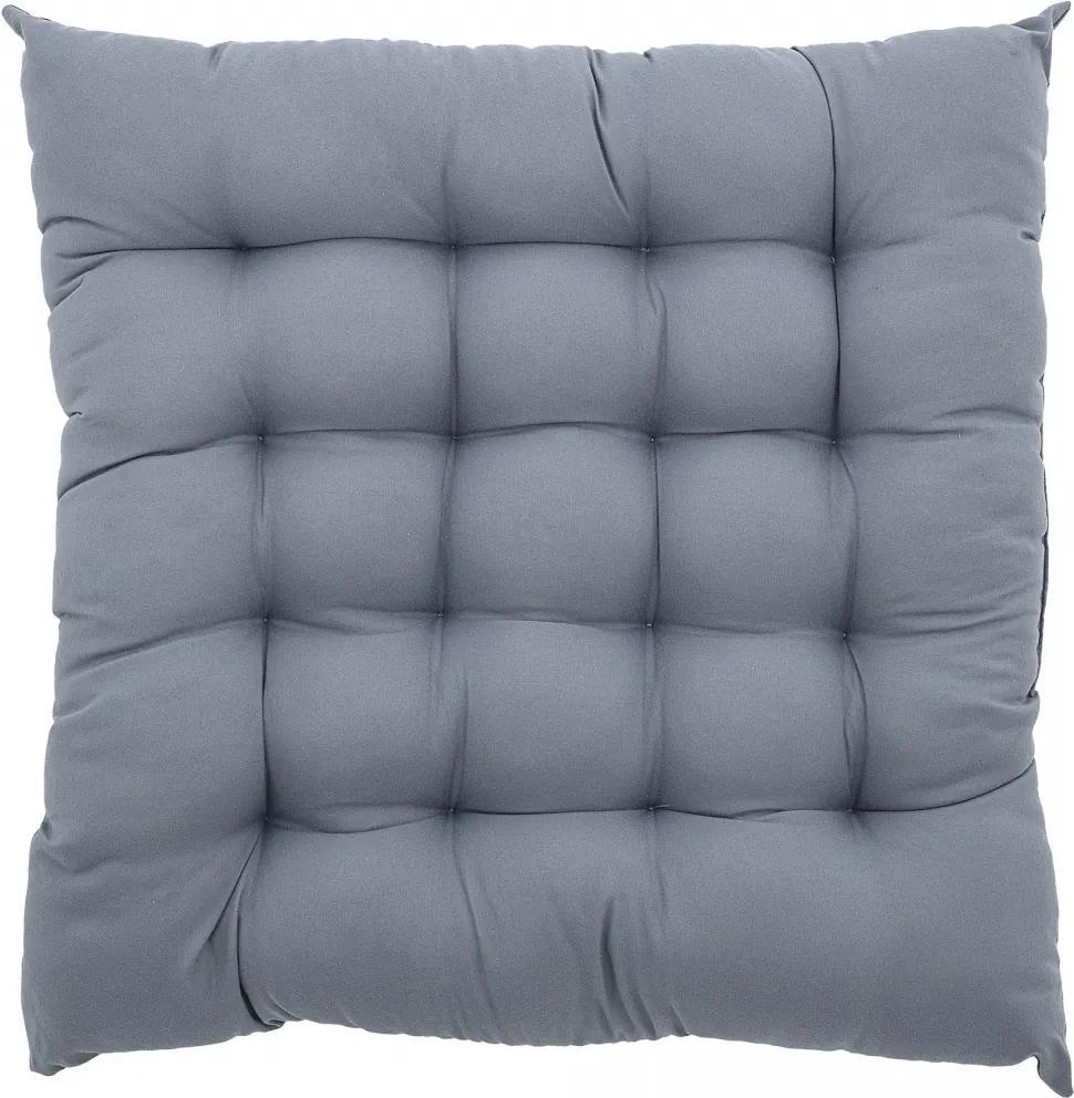 Sedák na stoličku, Blue, 45x45 cm Bloomingville 31152250