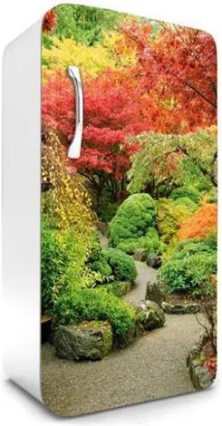 Samolepiace tapety na chladničku, rozmer 120 cm x 65 cm, jesenná záhrada, DIMEX FR-120-029