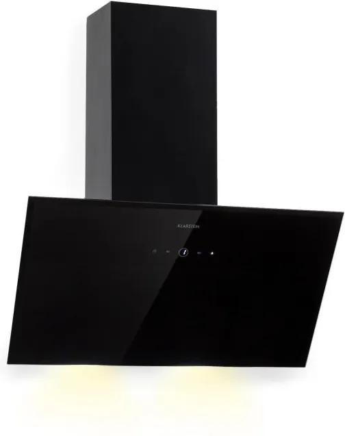 Klarstein Laurel 60, digestor, 60 cm, 350 m³/h, LED dotykový panel, čierny