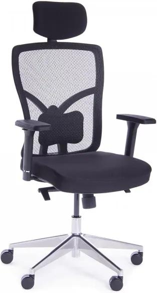 Kancelárska stolička Superio čierna