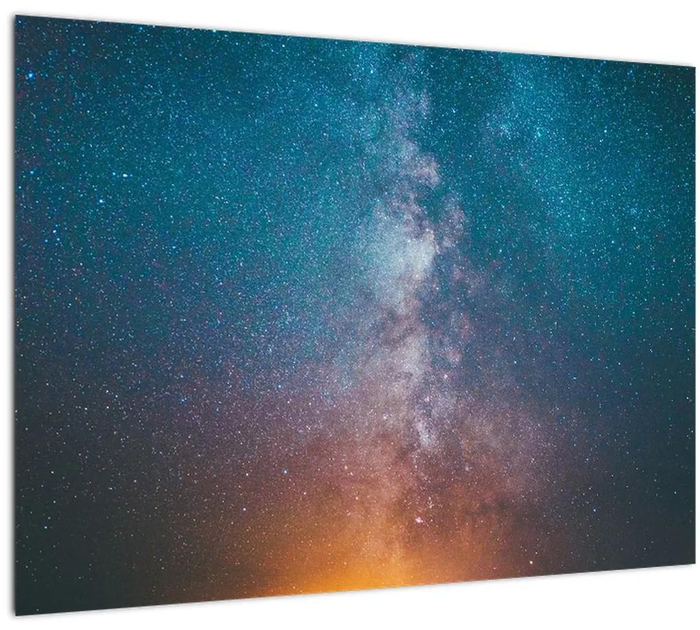 Obraz - Mliečna dráha (70x50 cm), 40 ďalších rozmerov