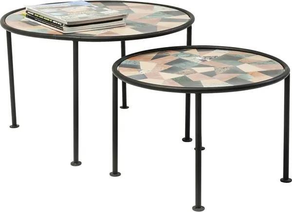 KARE DESIGN Konferenčný stolík Coccio (2 / Set)