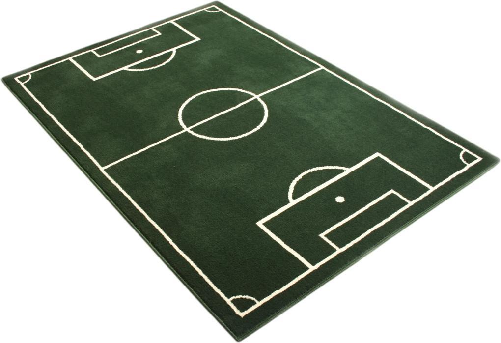Hanse Home Collection koberce Kusový koberec Prime Pile Fußball 100827 - 120x170 cm