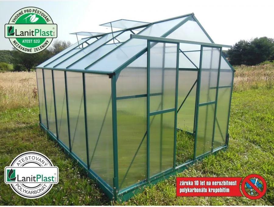 LANIT PLAST - skleník LANITPLAST PLUGIN 8x12 zelený LG576