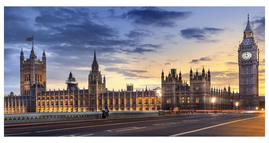 Foto obraz akrylové sklo Big Ben Londýn pl-oa-140x70-f-55189515