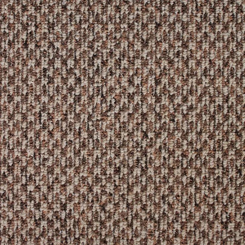 Spoltex koberce Liberec Metrážový koberec Country 67 hnědý - Rozměr na míru bez obšití cm