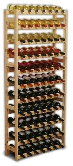 Regál na víno Klasik 77