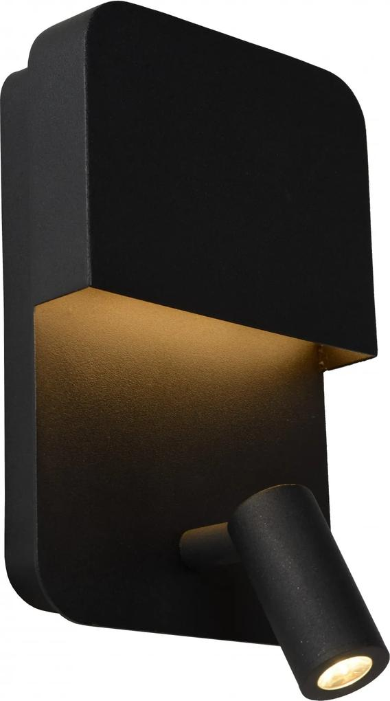 Lucide 79200/08/30 BOXER nástenné svietidlo 1xLED 8W