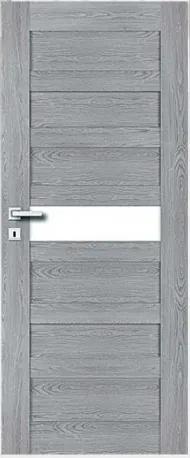 PerfectDoor Komplet PAROS 5  (dvere,zárubňa,kľučka)