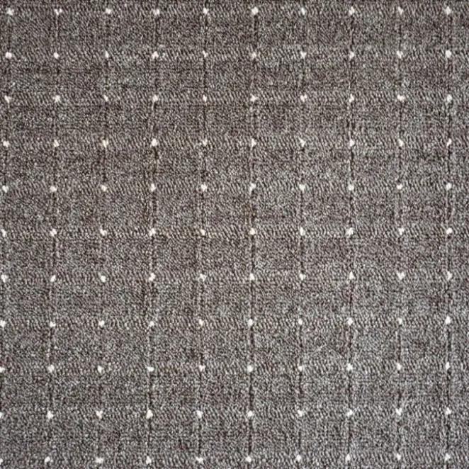 Vopi koberce Kusový koberec Udinese hnědý čtverec - 60x60 cm