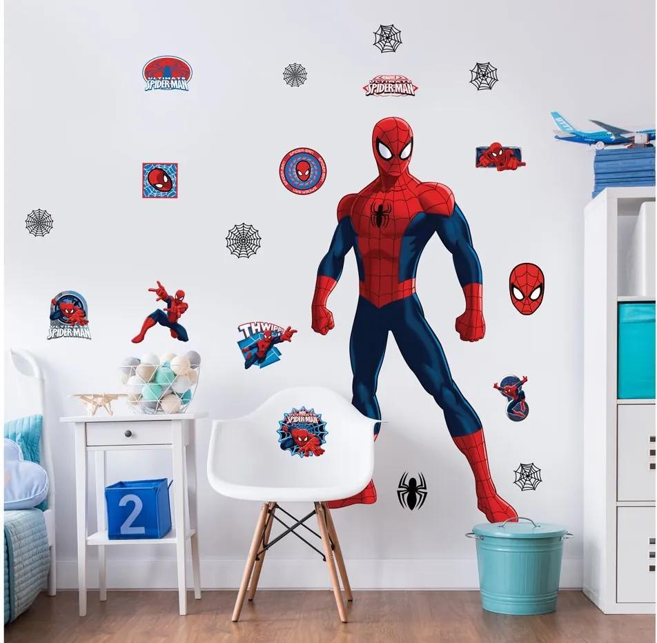 MAXMAX Veľké detské samolepky Disney - SPIDERMAN
