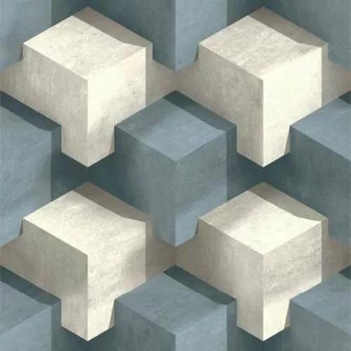 Vliesové tapety na stenu PRISME L20101, rozmer 10,05 m x 0,53 m, Ugepa