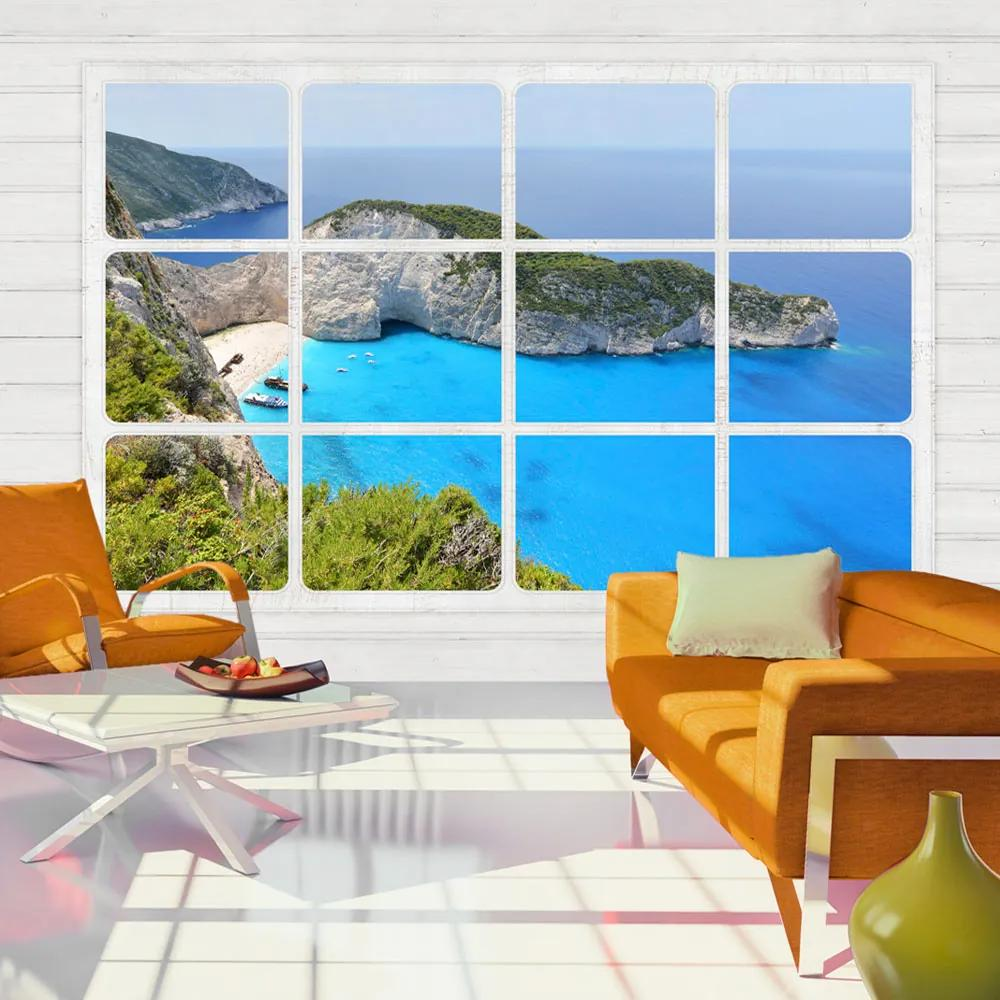 Fototapeta - Window on the world 200x140
