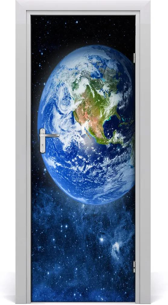 Fototapeta samolepící na dveře Zeměkoule
